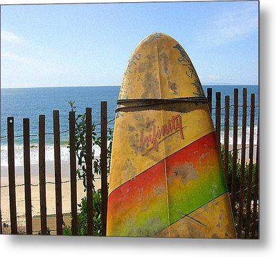 Metal Print featuring the digital art Infinity by Timothy Bulone