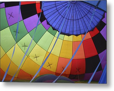 Metal Print featuring the photograph Inflation Time by Linda Geiger