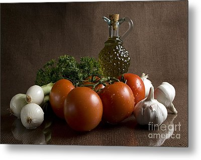 Ingredients Metal Print by Jeannie Burleson