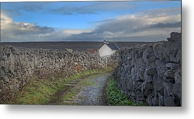 Inis Mor Country Metal Print by Betsy Knapp