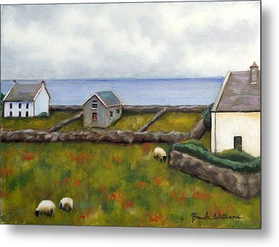Inishmore Island Metal Print by Brenda Williams
