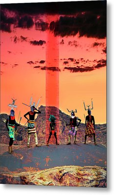 Initiation Metal Print by Mark Myers