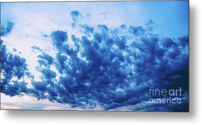 Metal Print featuring the photograph Ink Blot Sky by Colleen Kammerer