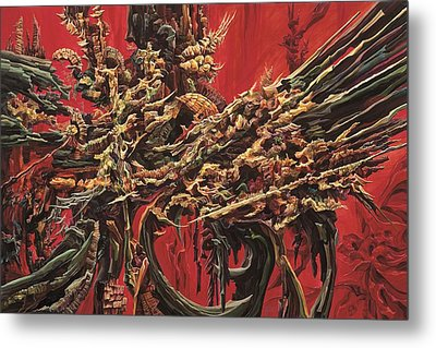 Inner Fire Metal Print by Charles Cater