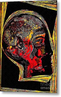 Inner Man Metal Print by Sarah Loft