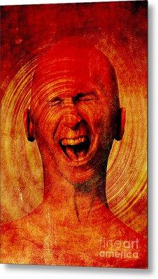 Inner Pain Metal Print by George Mattei