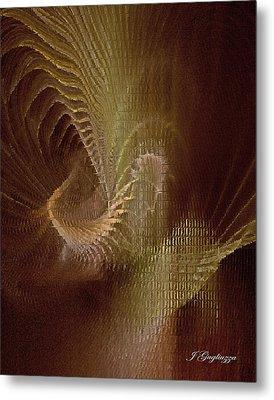 Inner Space Metal Print by Jean Gugliuzza
