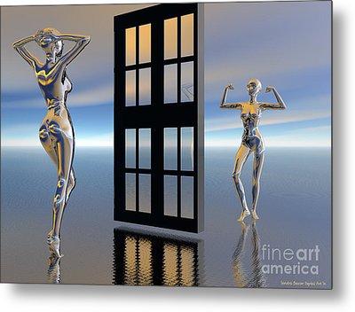 Inner Strength Metal Print by Sandra Bauser Digital Art