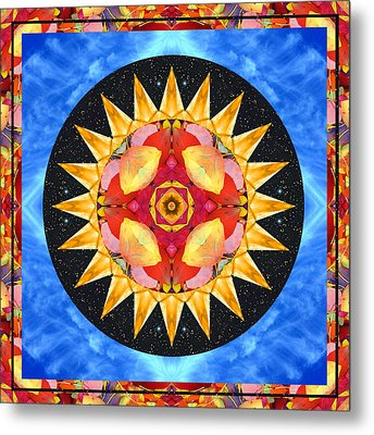 Inner Sun Metal Print by Bell And Todd