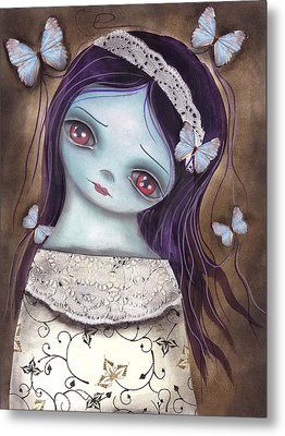 Innocence  Metal Print by  Abril Andrade Griffith