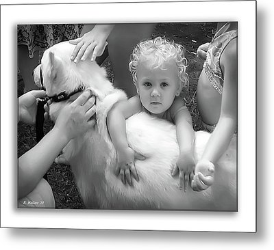 Innocence And Love Metal Print by Brian Wallace