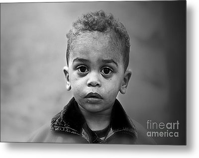 Innocence Metal Print by Charuhas Images