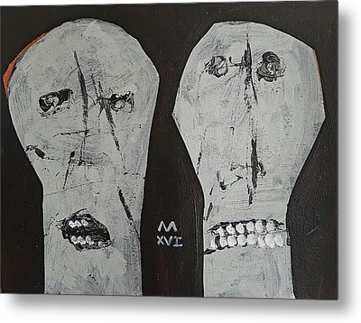 Innocents No 4  Metal Print by Mark M Mellon