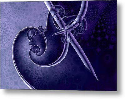 Innoculation Metal Print