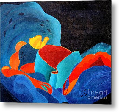 Inorganic Incandescence Metal Print by Lynne Reichhart