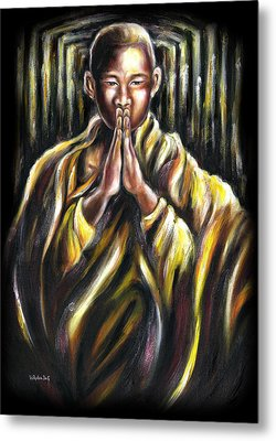 Inori Prayer Metal Print
