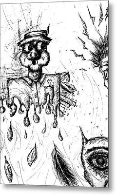 Insanity Metal Print by Jera Sky