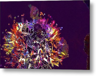 Metal Print featuring the digital art Insect Bug Bee Beetle  by PixBreak Art