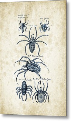 Insects - 1792 - 18 Metal Print by Aged Pixel