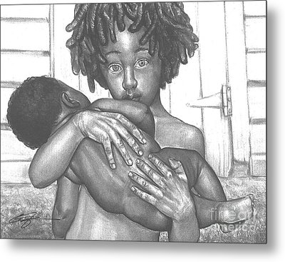 Inseparable Metal Print by Curtis James