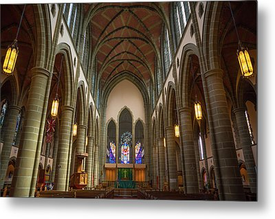 Inside Christchurch Cathedral Metal Print