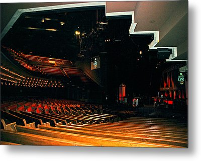Inside Grand Ole Opry Nashville Metal Print by Susanne Van Hulst