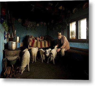 Inside His House Metal Print by Mihnea Turcu