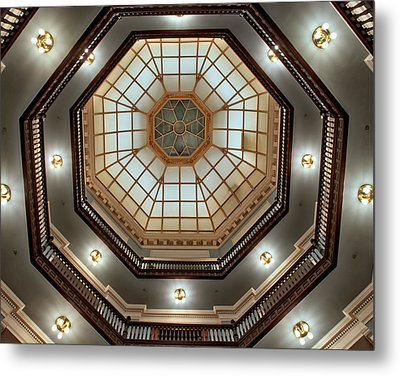 Inside The Dome Metal Print