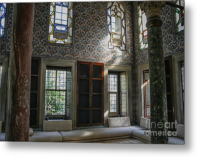 Inside The Harem Of The Topkapi Palace Metal Print by Patricia Hofmeester