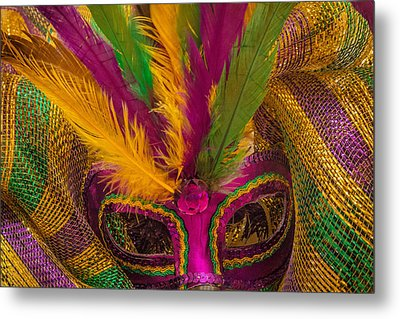 Metal Print featuring the photograph Inside The Masquerade by Julie Andel