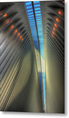 Inside The Oculus Metal Print