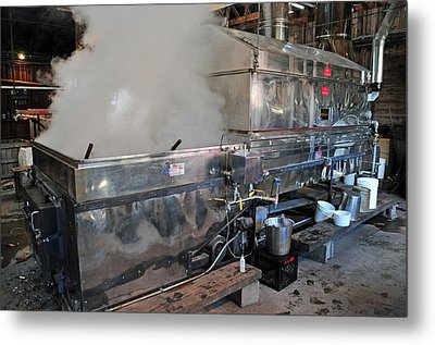 Inside The Sugar House Metal Print by Mike Martin
