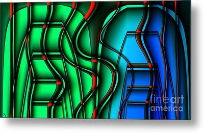 Inside The Toaster Metal Print by Ron Bissett
