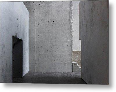 Inside The Walls 1 Metal Print by David Umemoto