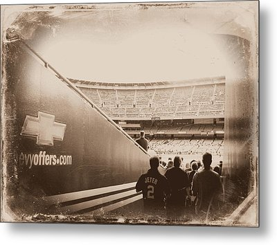 Inside The Cathedral Of Baseball IIi Metal Print