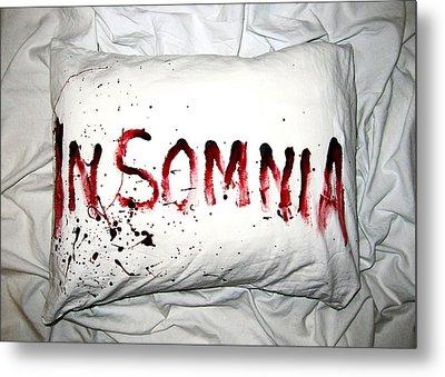 Insomnia Metal Print by Nicklas Gustafsson
