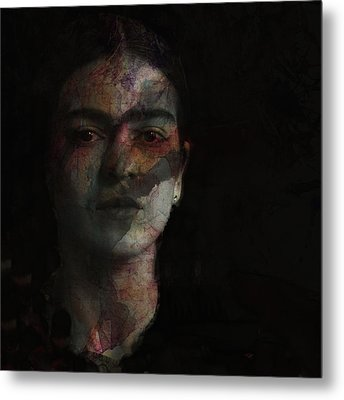 Inspiration Frida Kahlo  Metal Print