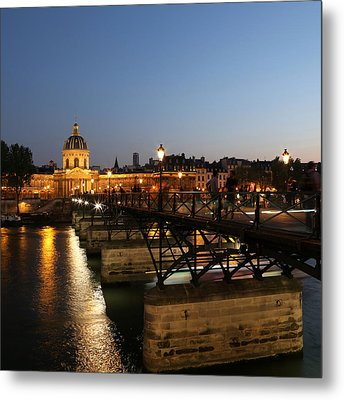 Metal Print featuring the photograph Institute Of France by Andrew Fare