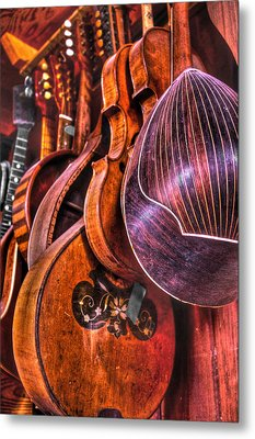 Instrumenti Metal Print by Frank SantAgata