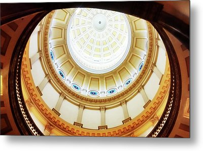 Metal Print featuring the photograph Interior Denver Capitol by Marilyn Hunt