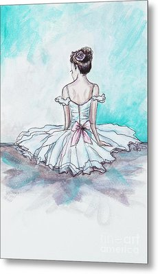 Intermission Metal Print by Elizabeth Robinette Tyndall