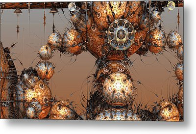 Interplanetary Travel Metal Print