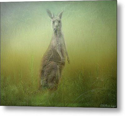 Interrupted Meal Metal Print