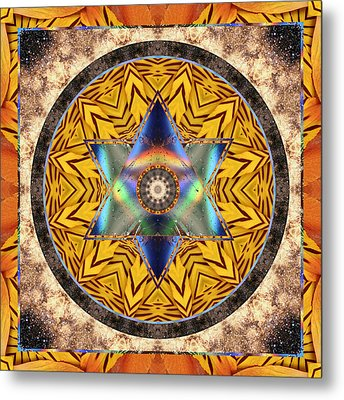 Interspectra Metal Print by Bell And Todd