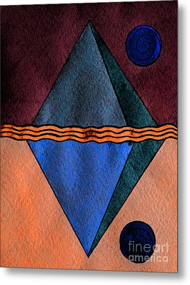Interstellar Geometry Metal Print