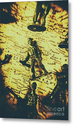 Interventionism Metal Print