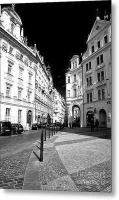 Metal Print featuring the photograph Into Prague Old Town Square by John Rizzuto