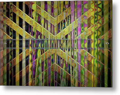 Into The Centre Of Yourself Metal Print by Nicole Frischlich