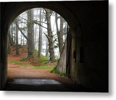 Into The Light Metal Print by Eric Foltz