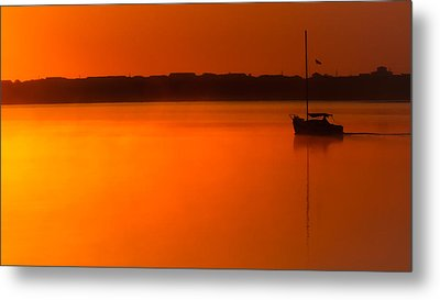 Into The Light Metal Print by Karen Wiles